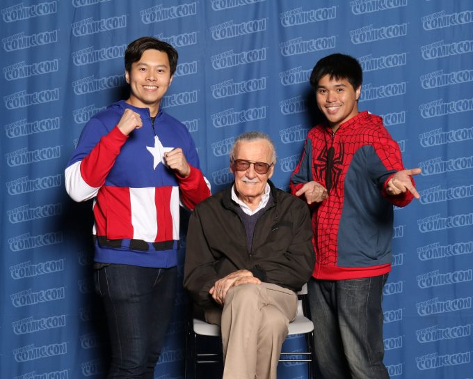 "Photo Op with Stan ""The Man"" Lee"