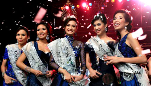 Miss Cebu 2009 Winners with Pictures