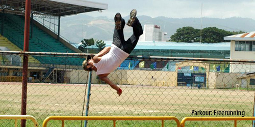 Parkour Freerunning: Meeting the Traceurs of Cebu